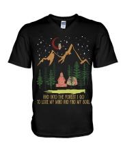 Find My Soul V-Neck T-Shirt thumbnail