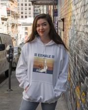 Exhaule Hooded Sweatshirt lifestyle-unisex-hoodie-front-1