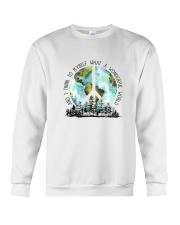 Myself What A Wonderful World 7 Crewneck Sweatshirt thumbnail