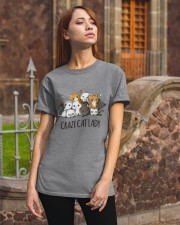 Crazy Cat Lady Classic T-Shirt apparel-classic-tshirt-lifestyle-06