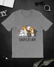 Crazy Cat Lady Classic T-Shirt lifestyle-mens-crewneck-front-16