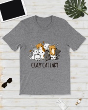 Crazy Cat Lady Classic T-Shirt lifestyle-mens-crewneck-front-17