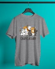 Crazy Cat Lady Classic T-Shirt lifestyle-mens-crewneck-front-3