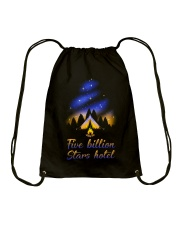 Five Billion Stars Hotel Drawstring Bag thumbnail