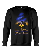 Five Billion Stars Hotel Crewneck Sweatshirt thumbnail