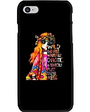 She Was Life Itself Phone Case tile