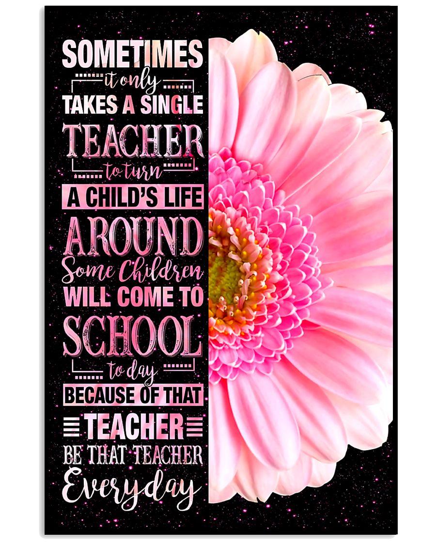 Teacher Be That Teacher Everday 11x17 Poster