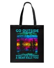 Go Outside Tote Bag thumbnail