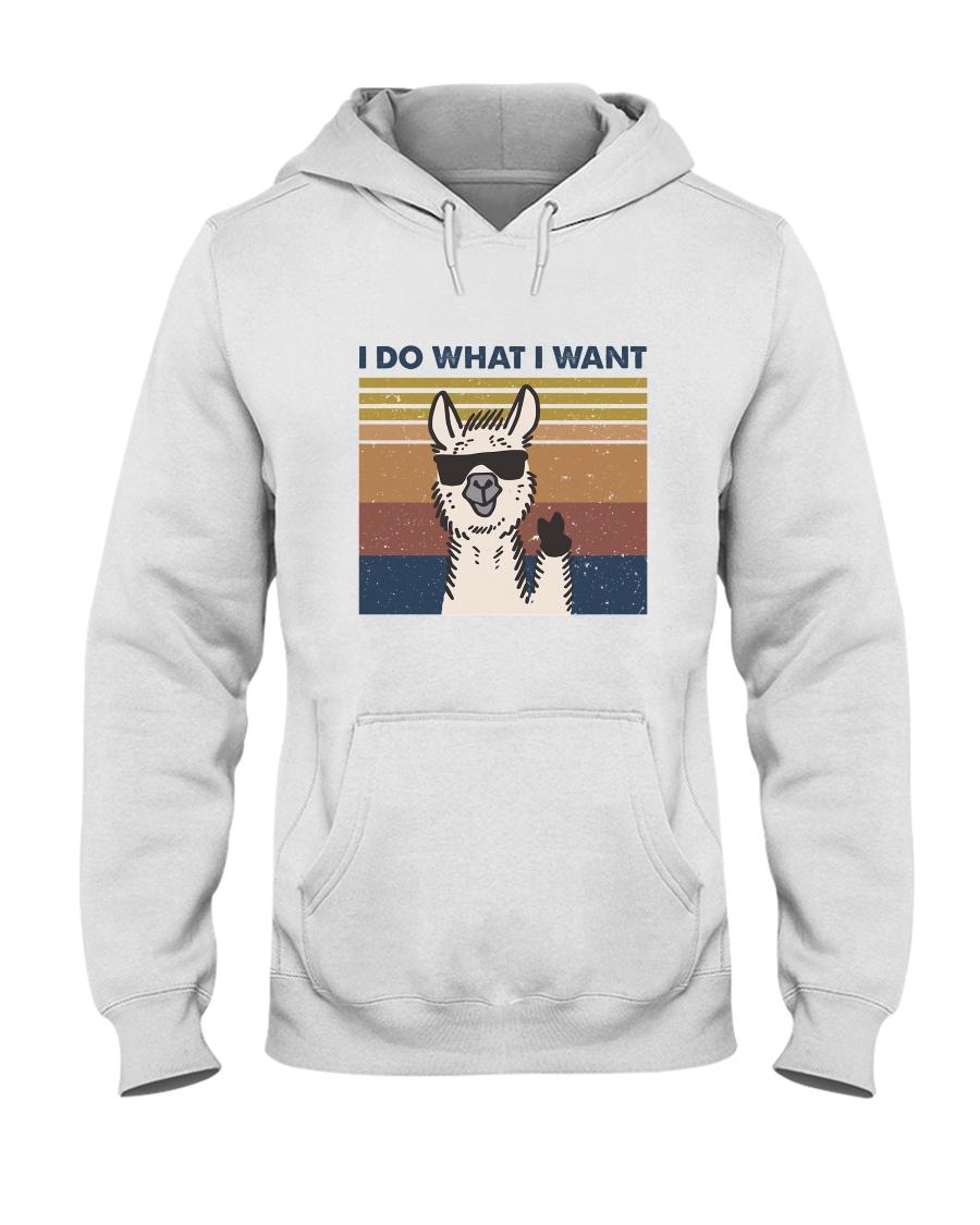 I Do What I Want Hooded Sweatshirt