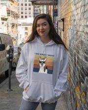 I Do What I Want Hooded Sweatshirt lifestyle-unisex-hoodie-front-1