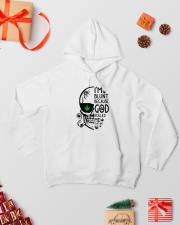 I'm Blunt Hooded Sweatshirt lifestyle-holiday-hoodie-front-2