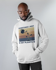 Sometimes I Wet My Plants Hooded Sweatshirt apparel-hooded-sweatshirt-lifestyle-front-09