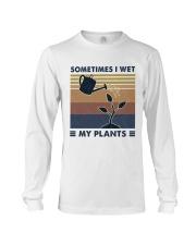 Sometimes I Wet My Plants Long Sleeve Tee thumbnail