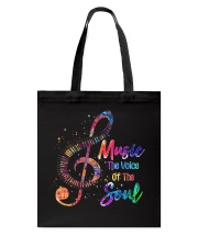 Music The Voice Of The Soul Tote Bag thumbnail