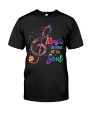 Music The Voice Of The Soul Classic T-Shirt front