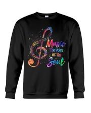 Music The Voice Of The Soul Crewneck Sweatshirt thumbnail