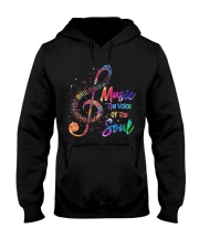 Music The Voice Of The Soul Hooded Sweatshirt thumbnail