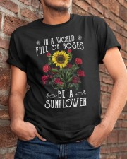 Be A Sunflower Classic T-Shirt apparel-classic-tshirt-lifestyle-26