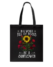 Be A Sunflower Tote Bag thumbnail