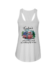 Freedom Is Just Another World Ladies Flowy Tank thumbnail