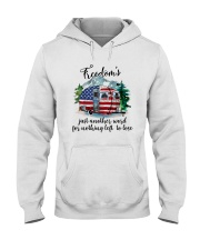Freedom Is Just Another World Hooded Sweatshirt thumbnail