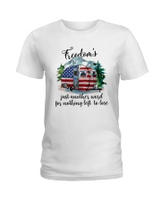 Freedom Is Just Another World Ladies T-Shirt thumbnail