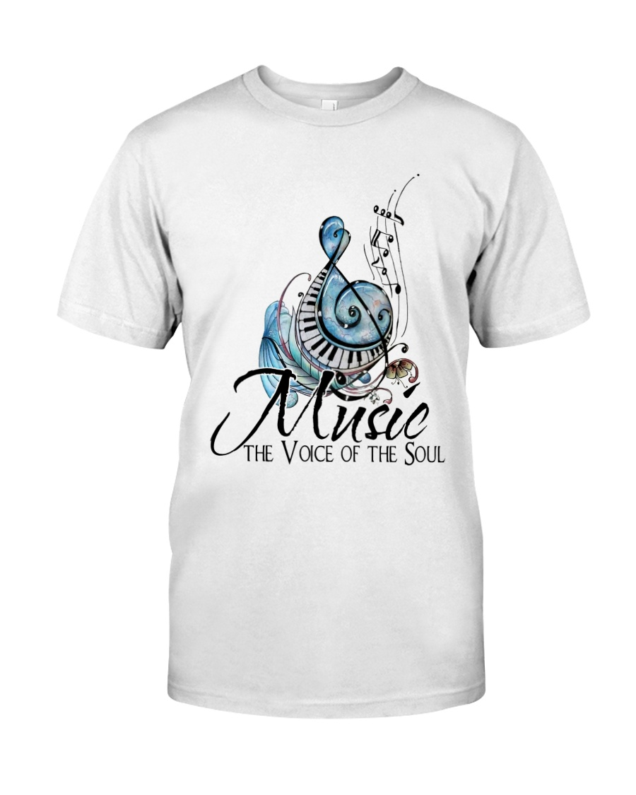 Music The Voice Of The Soul Classic T-Shirt