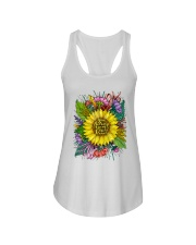 You Belong Among The Wildflowers Ladies Flowy Tank thumbnail