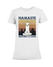Namaste Mother Premium Fit Ladies Tee thumbnail