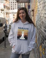 Namaste Mother Hooded Sweatshirt lifestyle-unisex-hoodie-front-1