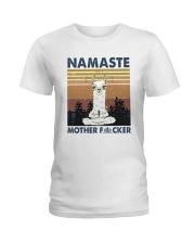 Namaste Mother Ladies T-Shirt thumbnail