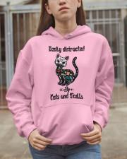 Cats And Skulls Hooded Sweatshirt apparel-hooded-sweatshirt-lifestyle-07