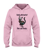 Cats And Skulls Hooded Sweatshirt front