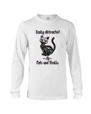 Cats And Skulls Long Sleeve Tee thumbnail