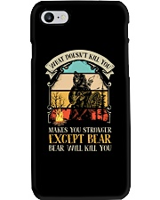 Bear Will Kill You Phone Case tile