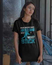 An Old Man With A Hockey Stick Classic T-Shirt apparel-classic-tshirt-lifestyle-08