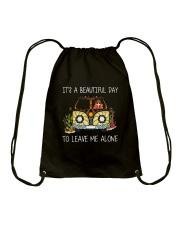 Its A Beautiful Day Drawstring Bag thumbnail