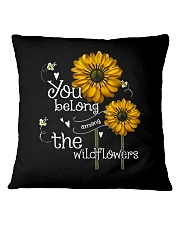 You Belong Among The Wildflowers 1 Square Pillowcase thumbnail