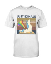 Just Exhale Classic T-Shirt thumbnail
