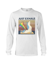 Just Exhale Long Sleeve Tee thumbnail