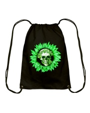 I Love Skull Drawstring Bag thumbnail