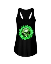 I Love Skull Ladies Flowy Tank thumbnail