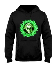 I Love Skull Hooded Sweatshirt thumbnail
