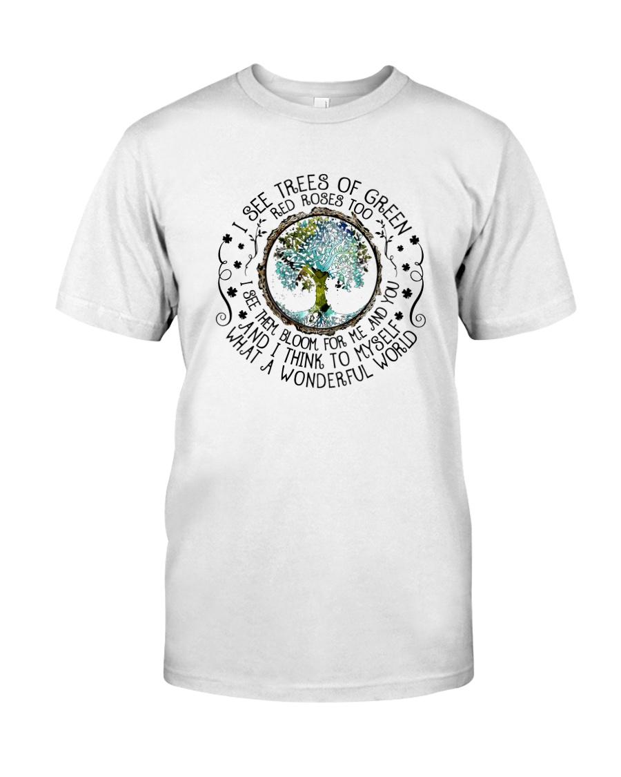 Myself What A Wonderful World 2 Classic T-Shirt