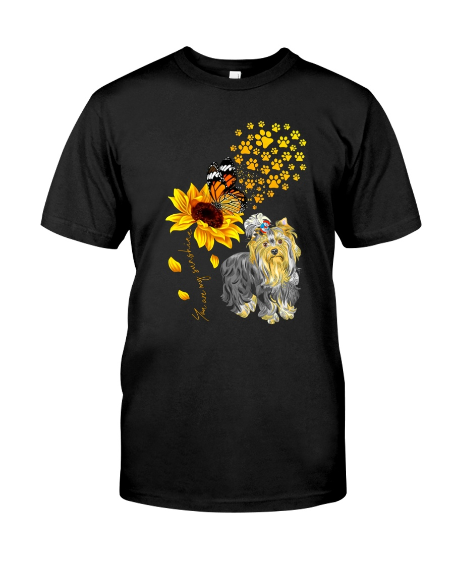 Yorkshire Terriers Dog Classic T-Shirt