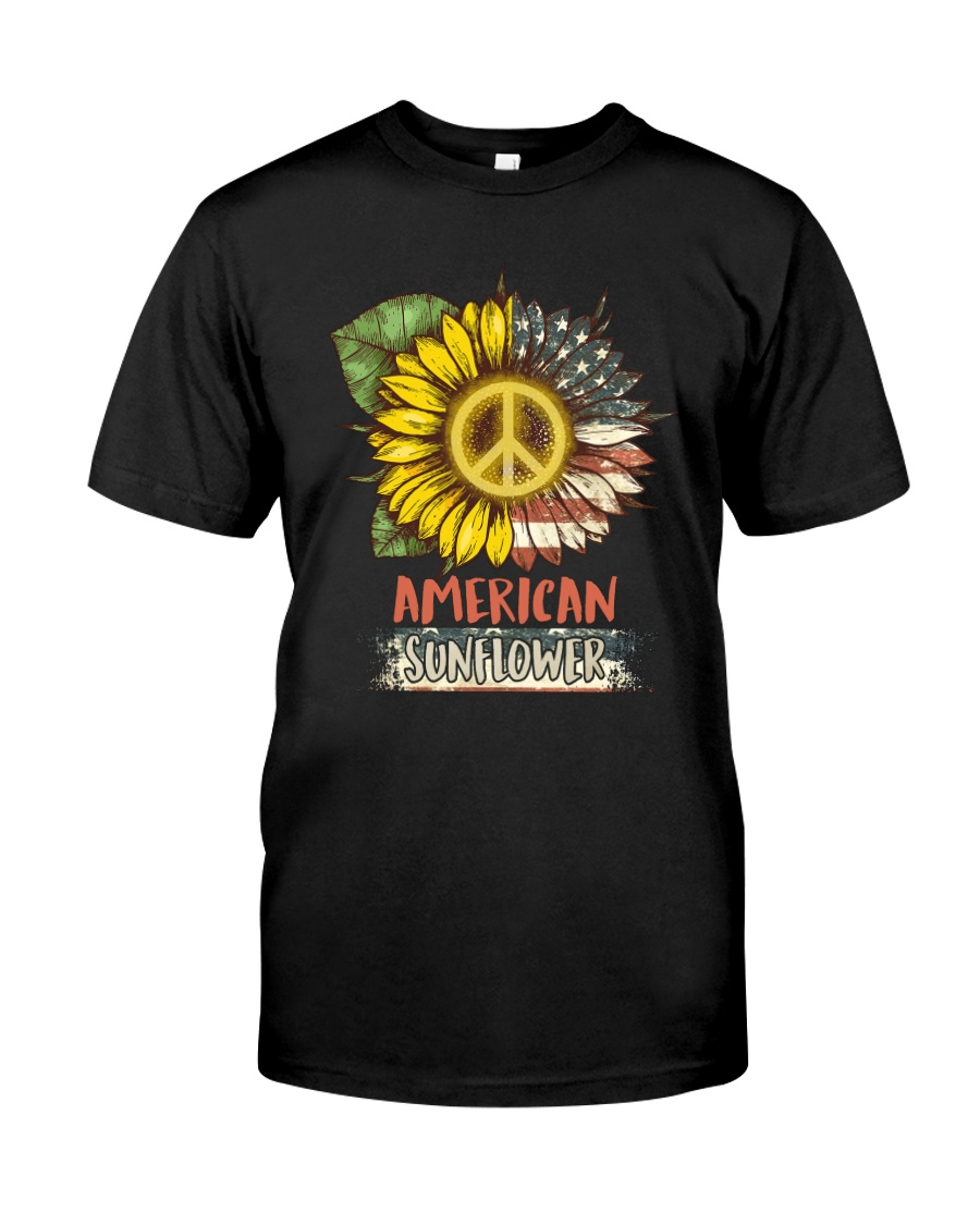 American Sunflower Classic T-Shirt
