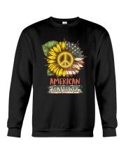 American Sunflower Crewneck Sweatshirt thumbnail