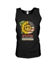 American Sunflower Unisex Tank thumbnail