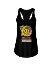American Sunflower Ladies Flowy Tank thumbnail