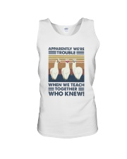 When We Teach Together Unisex Tank thumbnail